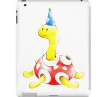 Shuckle in a Party Hat iPad Case/Skin