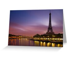 Paris, France. Greeting Card