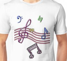 Music Colour Unisex T-Shirt