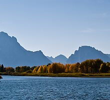 Oxbow Bend in Autumn by Tim Leonhardt