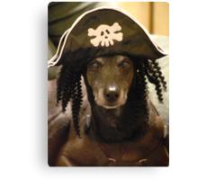Yo Ho Yo Ho... A Pirate's Life For Me....  Canvas Print