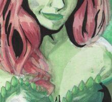 Poison Ivy! Sticker