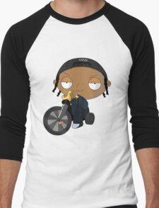 A$AP Rocky vs. Stewie  Men's Baseball ¾ T-Shirt
