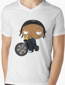 A$AP Rocky vs. Stewie  Mens V-Neck T-Shirt