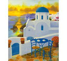Santorini Photographic Print