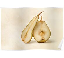 Pears - My Sweet And Perfect Half Poster