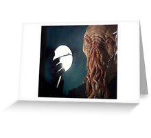 Too Ood to be True! Greeting Card