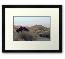Lucy Gray Mountains Framed Print