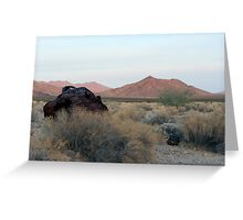 Lucy Gray Mountains Greeting Card