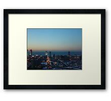 Sundown In the City   ^ Framed Print