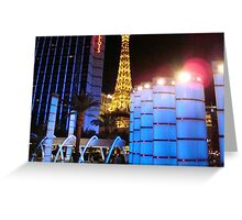 On the Strip ^ Greeting Card