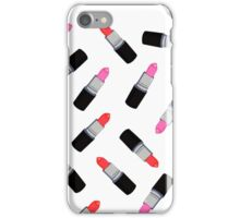 Mac Lipsticks Phone Cover White iPhone Case/Skin