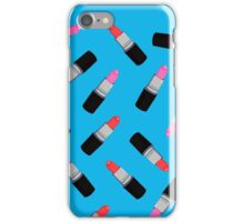 Mac Lipstick Phone Cover Blue iPhone Case/Skin