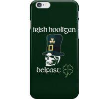 irish hooligan belfast - skull iPhone Case/Skin