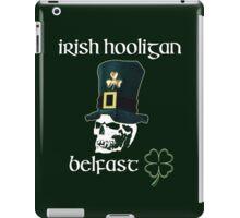 irish hooligan belfast - skull iPad Case/Skin