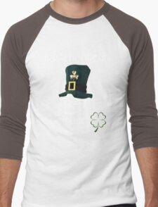 irish hooligan belfast - skull Men's Baseball ¾ T-Shirt