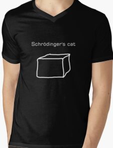 Schrödinger's cat Mens V-Neck T-Shirt