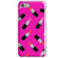 Mac Lipstick Phone Cover Fucsia iPhone Case/Skin