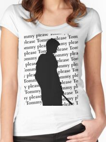 Please Tommy Please Women's Fitted Scoop T-Shirt