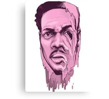 Chance the Acid Rapper Canvas Print
