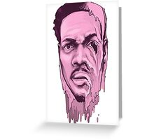 Chance the Acid Rapper Greeting Card
