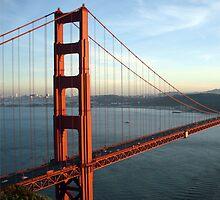 The Golden Gate Bridge by IntWanderer