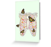 Monarch of my heart Greeting Card