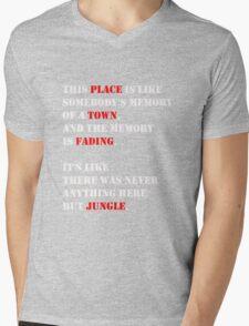 Jungle. Mens V-Neck T-Shirt