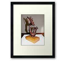 Nature's Art No2 from Romania Framed Print