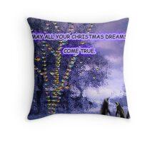 CHRISTMAS DREAMS Throw Pillow