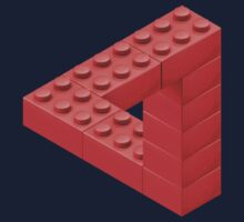 Escher Toy Bricks by Christopher Watson
