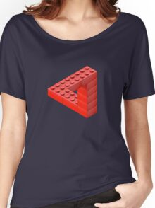 Escher Toy Bricks Women's Relaxed Fit T-Shirt