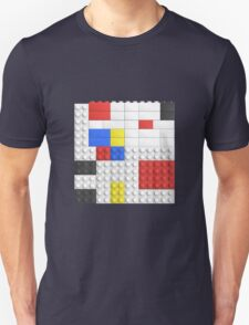 Mondrian Toy Bricks Unisex T-Shirt