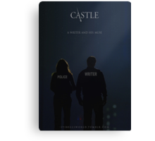 CASTLE POSTER Canvas Print
