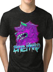 BITE HARD Tri-blend T-Shirt