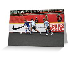 2008 Homeless World Cup Greeting Card