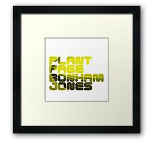 Plant Page Bonham Jones Framed Print