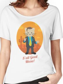 S'all Good Meow! Women's Relaxed Fit T-Shirt