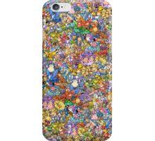 Gotta wear 'em all! iPhone Case/Skin