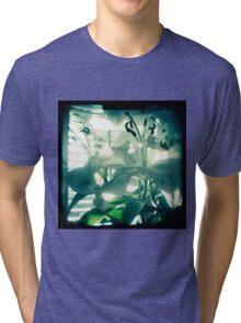 White lilies photograph Tri-blend T-Shirt