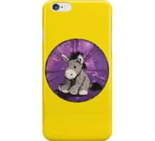 Donkey Plush (yellow) iPhone Case/Skin
