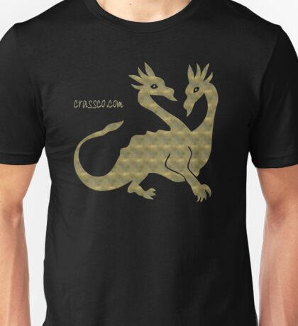 twin dragons Unisex T-Shirt