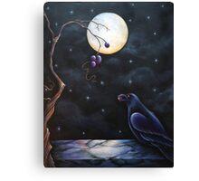 """The Raven"" Canvas Print"