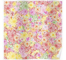 Flower Patch Poster