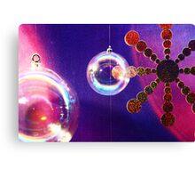 Xmas solar system Canvas Print
