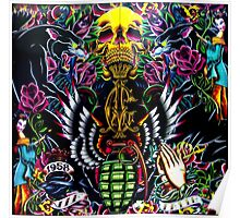 Ed Hardy Shop in Melbourne Poster