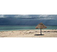 Fiji Hut Photographic Print