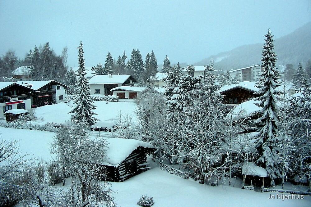 Peaceful Winter Morning by Jo Nijenhuis