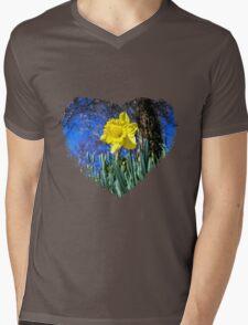 Happy St David's Day Mens V-Neck T-Shirt