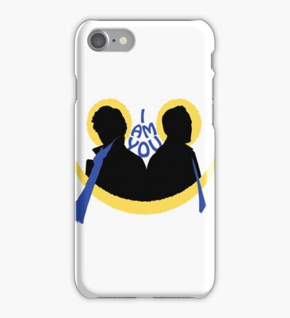 Sherlock and Moriarty - I am You iPhone Case/Skin